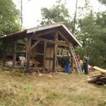 Démontage Cabane 2013